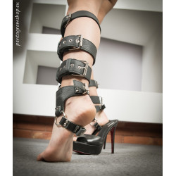 "Kajdanki stopy łydki unisex BDSM ""Feet slave"""
