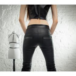 "Spodnie rurki proste zamki BDSM ""Natasha"""