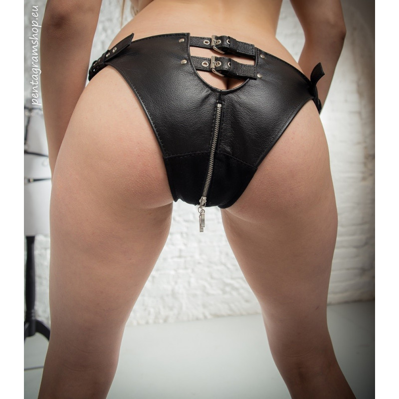 "Majtki unisex paski tył BDSM ""Imagination"""