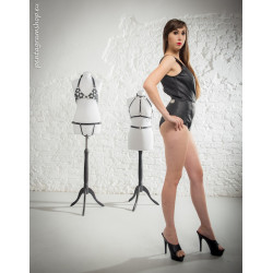 "Leather body fetish BDSM ""Bianca"""