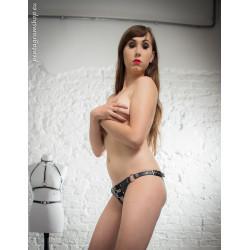 "Figi majtki przednie paski BDSM ""Invitation"""