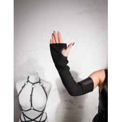 """Rękawiczki długie fetysz BDSM """"Mistress touch"""""""