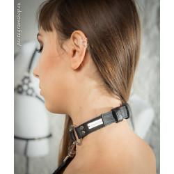 """Unisex Halsband aus Leder BDSM """"Chain"""""""