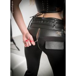 """Back zipper tube pants trousers BDSM """"Fetish Diva"""""""