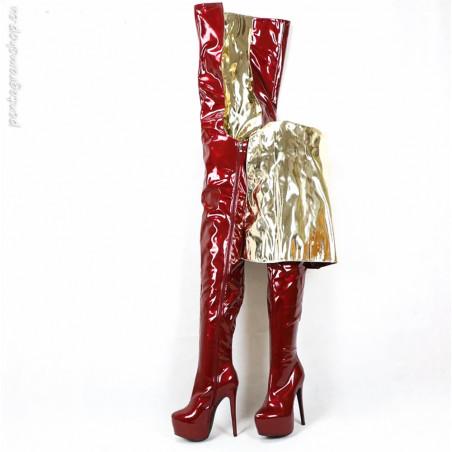 Italienische Rot fetish Schuhe