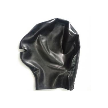 Lateksowa maska bez oczu same usta fetysz BDSM