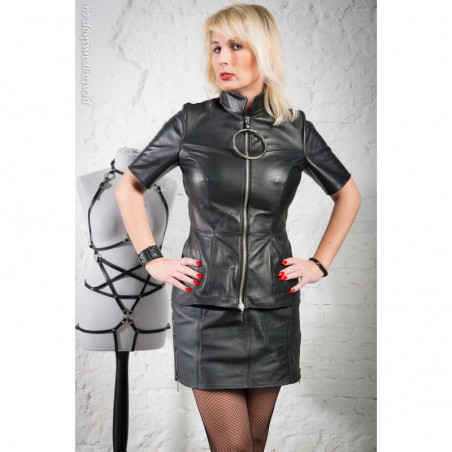 """Top vest with metal ring BDSM """"Giana"""""""