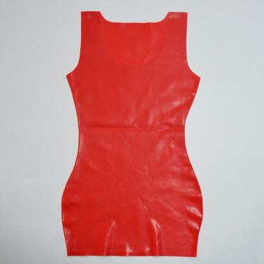 Latex minimalist dress mini fetish BDSM