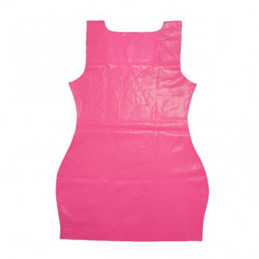 فستان قصير من اللاتكس للجنسين