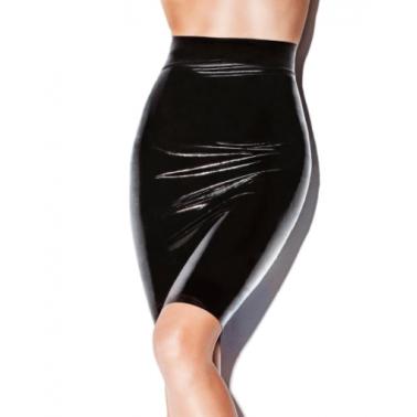 Midi unisex fetish latex skirt