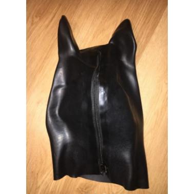 "Latex animal mask hood ""horse"" fetish BDSM"