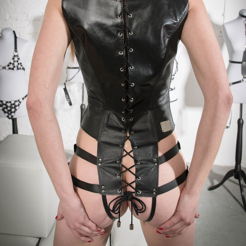 """بودي بشرائط القفص قابله لتعديل - BDSM """"Caged"""""""