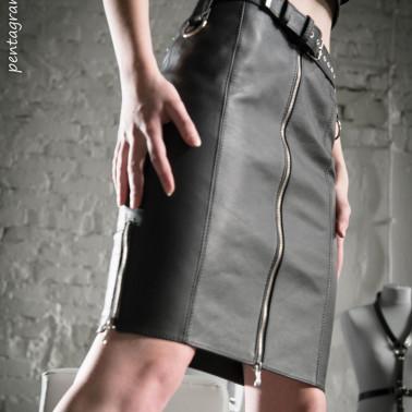 "Classic midi skirt fetish BDSM ""Classy Domme"""