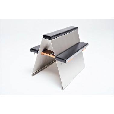 Stainless steel luxury bondage bench fetish BDSM