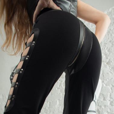 """Legginsy paski fetysz BDSM """"Ladder"""""""