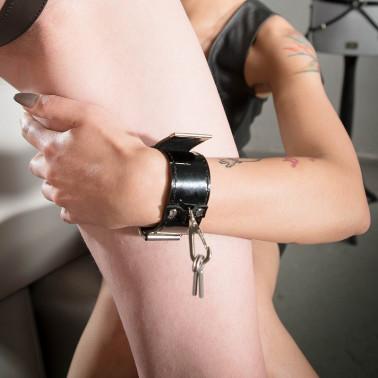 """Majtki zapinane fetysz BDSM """"Locked Key"""""""
