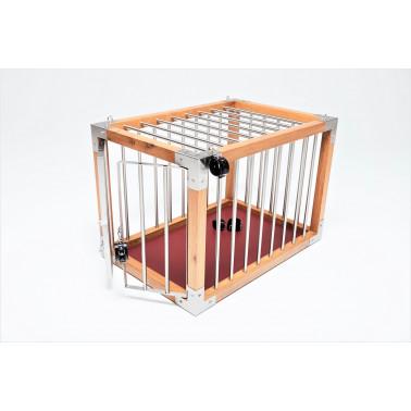Bondage oak horizontal cage lock up fetish BDSM