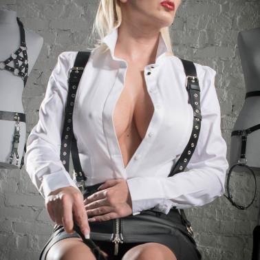 "Leather braces unisex fetish BDSM ""Braces"""
