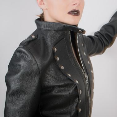 "Skórzana kurtka militarna BDSM ""Dark Army"""