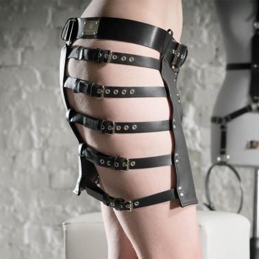 "Mini skirt stripes BDSM ""Sexy Provocative"""
