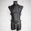 "Leather top collar fetish BDSM ""Shameless"""