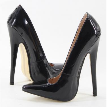 Diabolical heel fetish court shoes pumps Trans Crossdress 36-45 EU