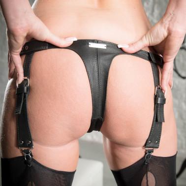 """Unisex G-strings garter belt """"Miss Nylon"""""""