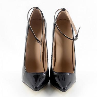 Szpilki czółenka Trans Crossdress metal heel fetysz 36-46 EU