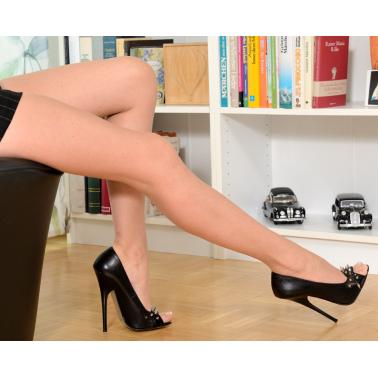 Ekskluzywne włoskie lakierowane szpilki ćwieki fetysz unisex 35-46 EU