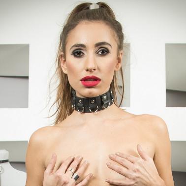 """Skórzana mini spódnica z paskami fetysz BDSM """"Sexy Provocative"""""""