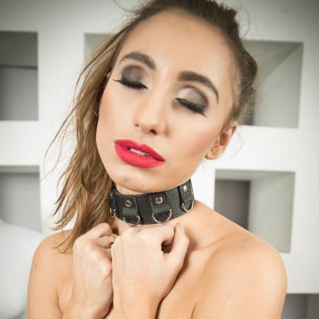 "Szeroka bransoleta kieszeń BDSM ""Treasure"""