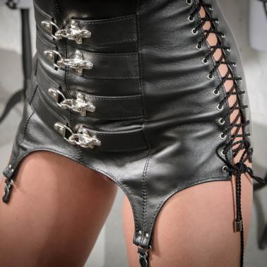 "Open girdle stocking belt BDSM ""Four Locks"""