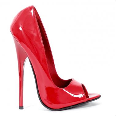 Teuflisch Italienische Rot Schuhe 35-46 EU
