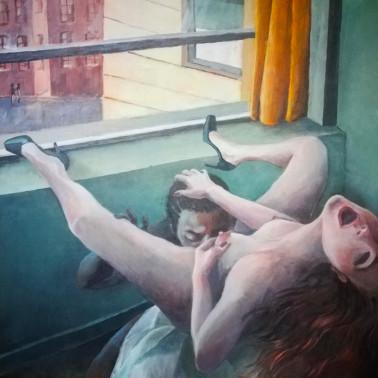 """Obraz fetysz kobieta w ekstazie """"Desire"""""""