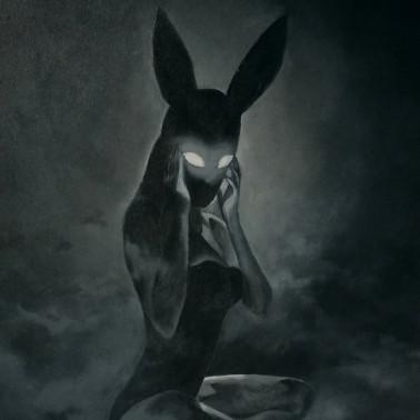 """Obraz fetysz kobieta królik """"Crystal Eyes"""""""