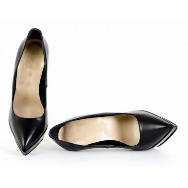 Extravagant black fetish high heels 35-46 EU